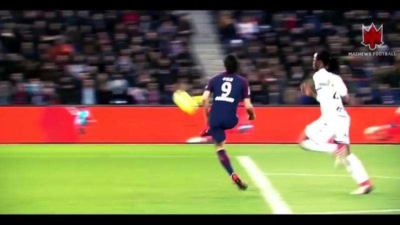 Edinson Cavani - El Matador - Amazing Goals - 2018