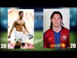 Cristiano Ronaldo vs Lionel Messi Transformation F.mp4