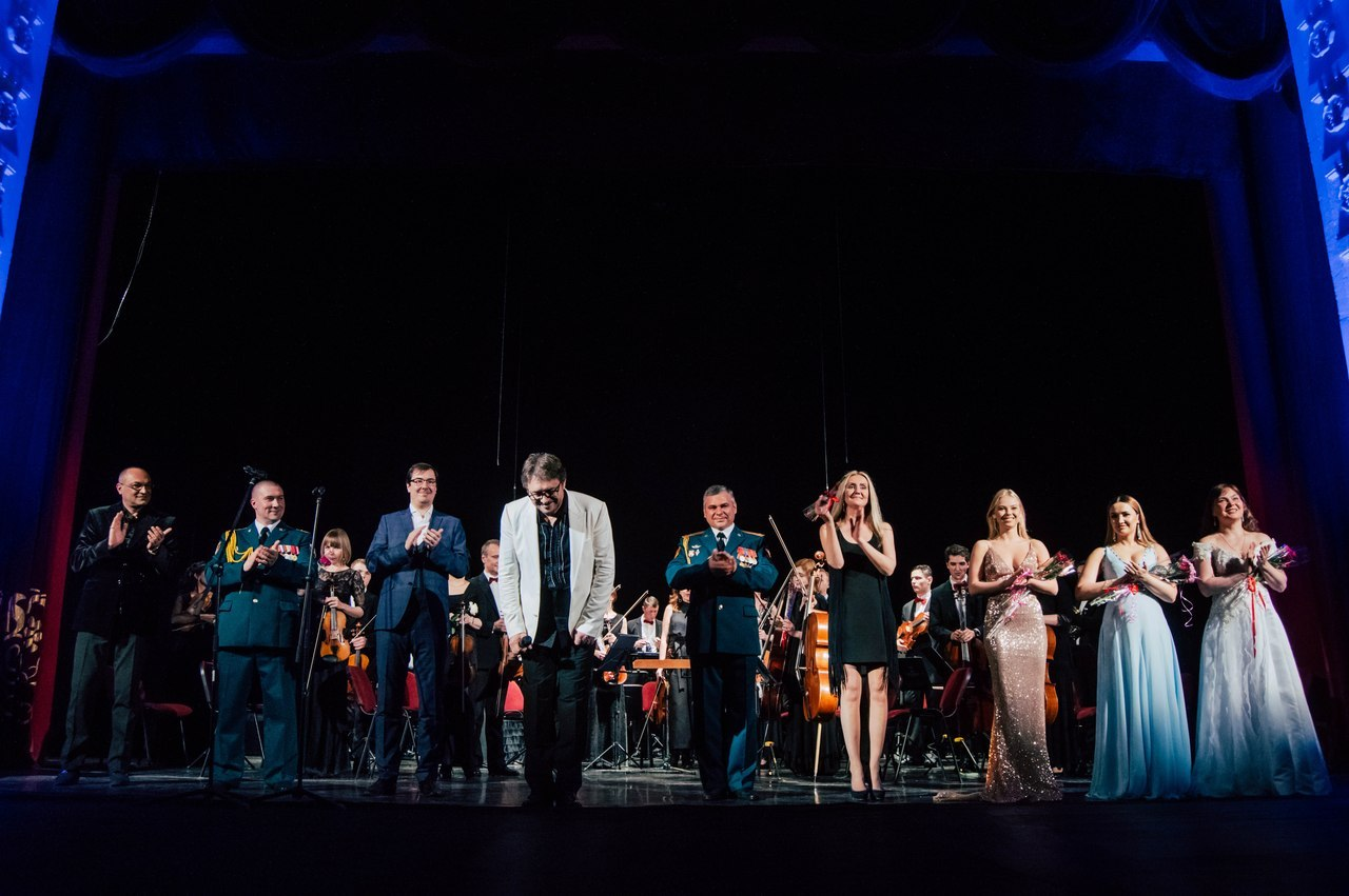 Концерт оркестра Росгвардии в ТМДК