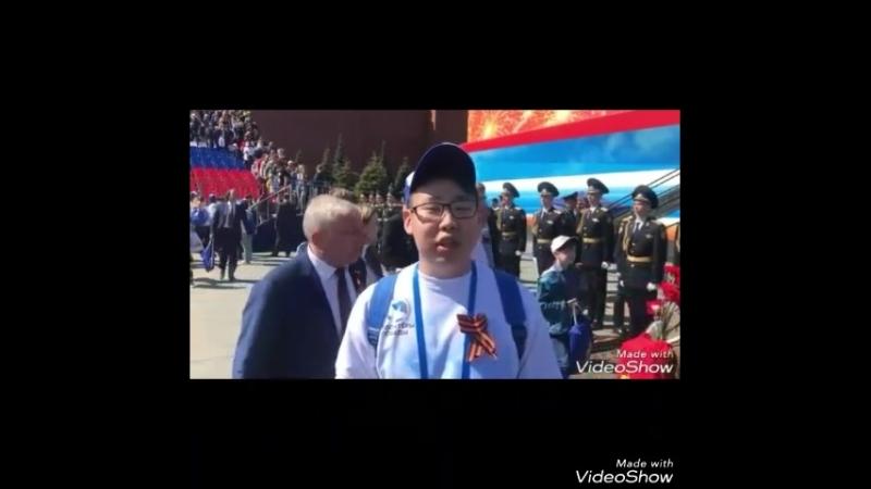 Соорганизатор Дмитрий Дьячков в Москве...