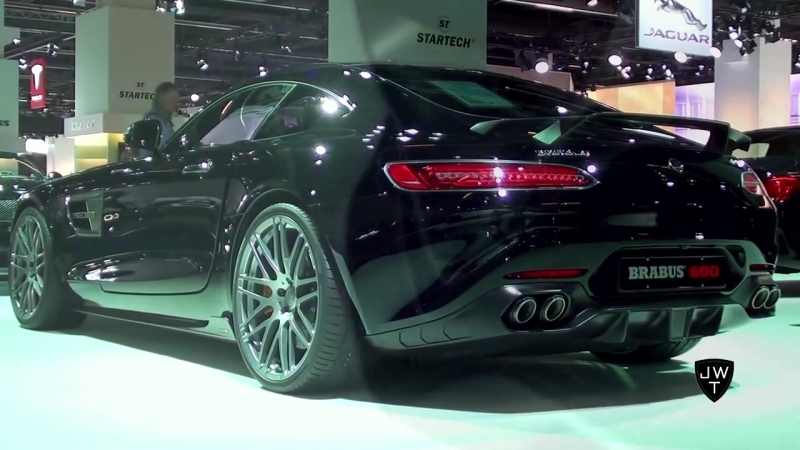 The Brabus 600 Mercedes-AMG GT S Coupe w_ 600 HP! - IAA Frankfurt 2015