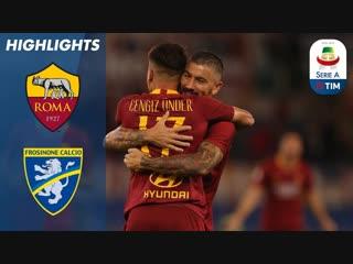 Roma vs. Frosinone _ Roma Cruise to Home Win _ Serie A