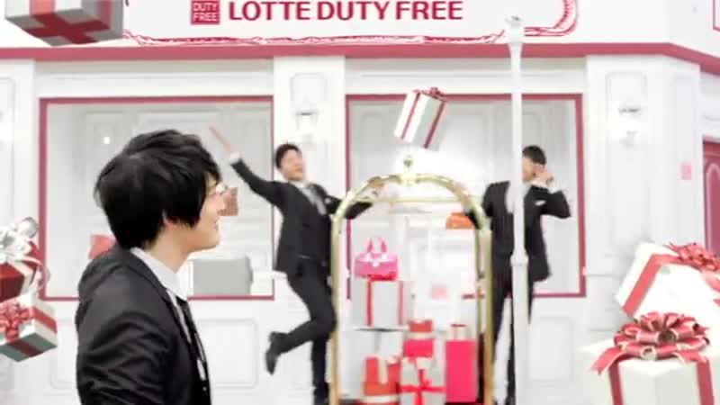Jang Geun Suk, Kim Hyun Joong, JYJ, 2PM, Hyun Bin, Big Bang, Choi Ji Woo, Song Seung Hun - Lotte Duty Free (Korean Full Version)