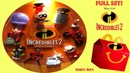 2018 The Incredibles 2 Movie Toys McDonald's Happy Meal Toys Full Set Wreck-It Ralph Tubey