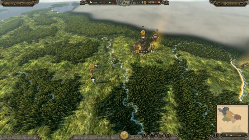 [GeoStrateg] Total War ATTILA Венеды. Прохождение. Легенда 2 - Жёсткий отпор захватчикам