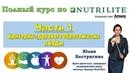 №1 Nutrilite Критерии здорового образа жизни и БАДы