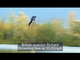 Real-Life Iron Man Just Broke A Flying Suit Speed Record