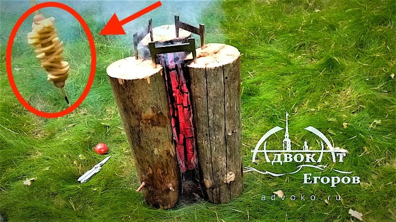 Swedish Torch/Stove Vertical Cooking: My Bushcraft Recipes