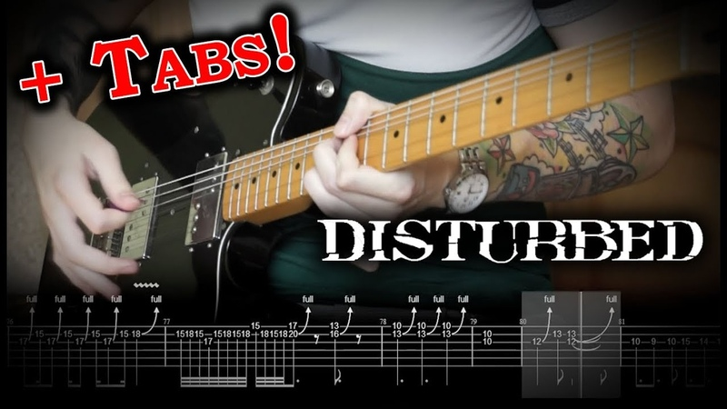 Disturbed - Are You Ready (Guitar Cover w/Solo Tabs)