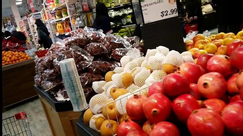 США азиатские продукты - корейский HMART USA BALTIMORE korean grocery store