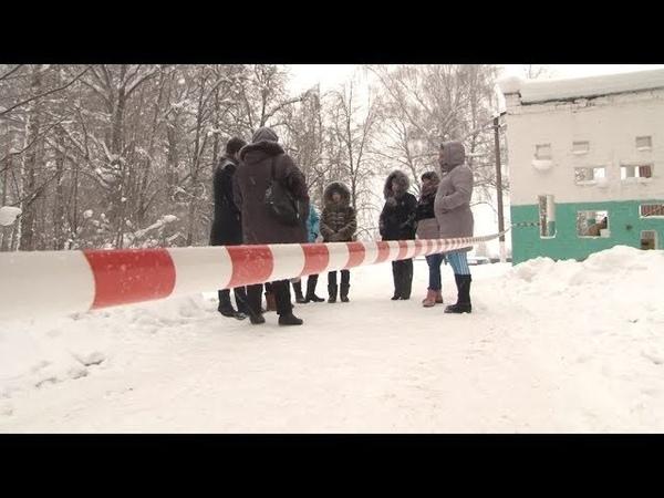 Сюжет ТСН24 Жители поселка Ревякино боятся отправлять своих детей в школу