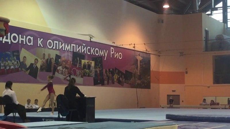 Минаева Мария - вольные упражнения - Многоборье | Minaeva Maria - FX
