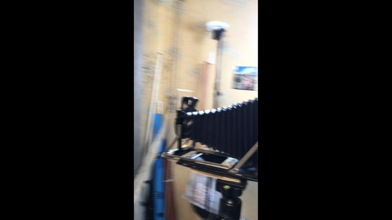 Instax -задник под картриджи fujifilm wide, для форматной камеры 10x12 cm.