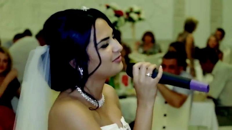 Невеста поет на свадьбе Песня в подарок жениху MFYRND