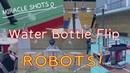 Подростки научили роботов бросать бутылку