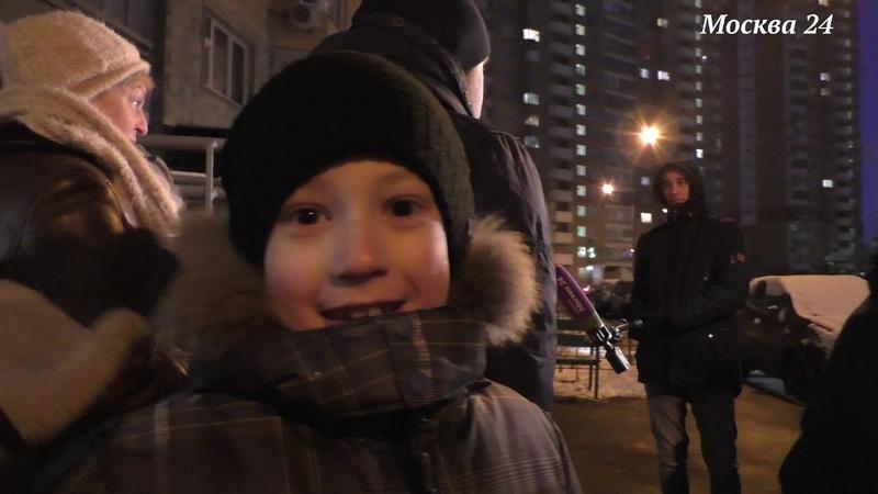 репортаж с репортажа Москва24 Град Московский пробки