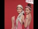 3 прически с платком | Vogue Korea