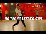 ARIANA GRANDE NO TEARS LEFT TO CRY BLAKE MCGRATH CHOREOGRAPHY