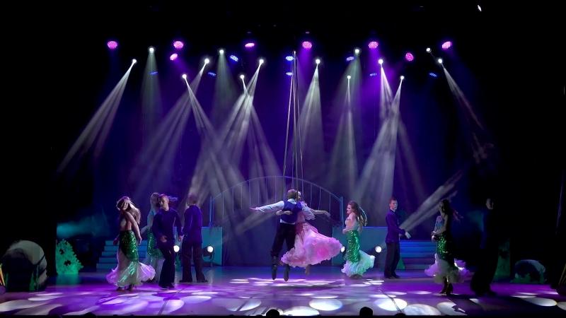 шоу балет Фиеста отрывок танцевального спектакля На глубине