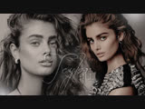 Taylor Hill's 10-Minute Guide to Her Fall Look | Beauty Secrets | Vogue (RUS SUB)