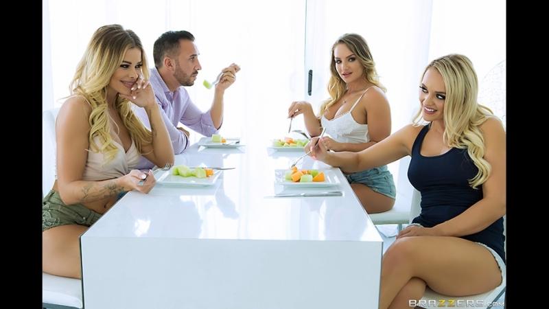 Brazzers Porno HD_Our Horny Lesbian Housemates Alexis Monroe, Cali Carter, Jessa Rhodes Keiran Lee PLIB Pornstars Like It Big