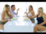 Brazzers Porno HD_Our Horny Lesbian Housemates Alexis Monroe, Cali Carter, Jessa Rhodes & Keiran Lee PLIB Pornstars Like It Big
