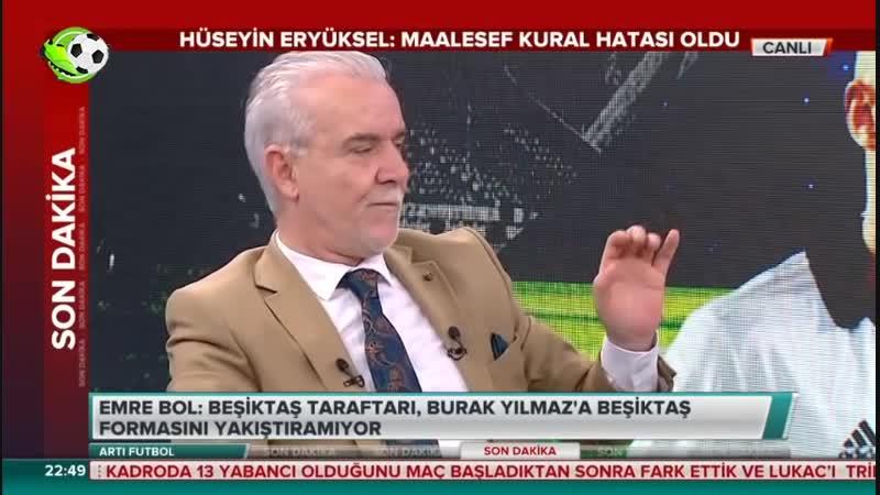 Akhisarspor 1-3 Beşiktaş ¦ Stüdyoda Burak Yılmazın Islıklanması Tartışması