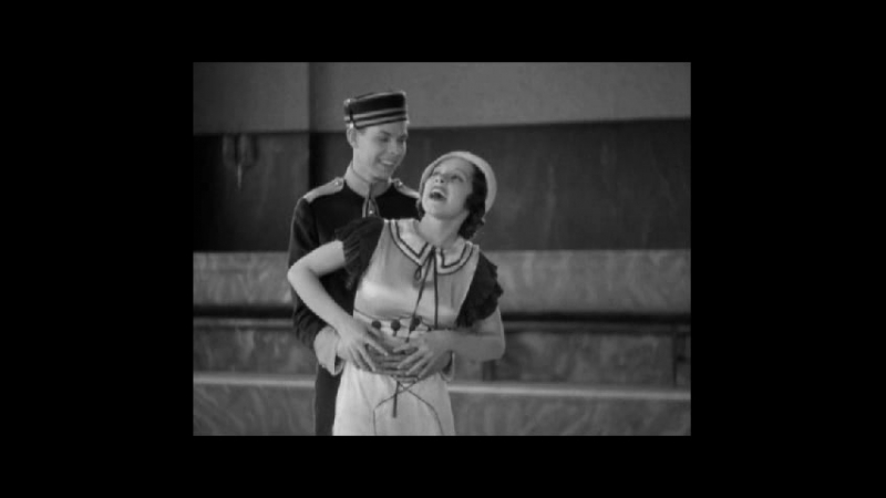 Hal LeRoy and Mitzi Mayfair Tap Dance Production Number