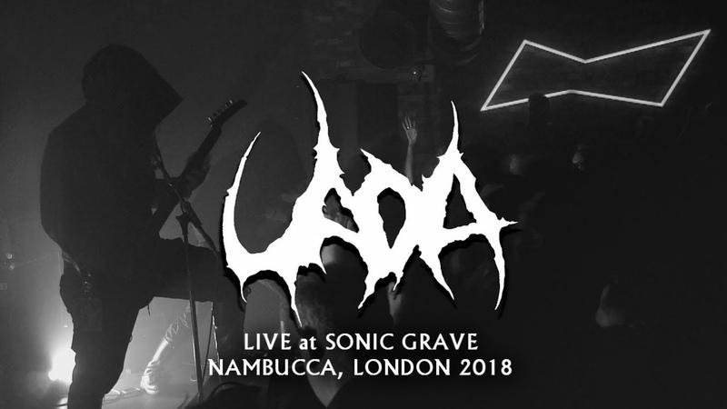 Uada - Natus Eclipsim - Live at Sonic Grave, Nambucca, London 2018