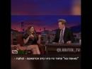 👠 ТРЭШ ИНСТАГРАМА в Instagram- «Актриса Элизабет Олсен обучает телеведущего Конана О'Брайена нецензурным выражениям на русском я