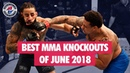 Best MMA Knockouts of June 2018