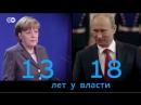Что связывает и разделяет Меркель и Путина