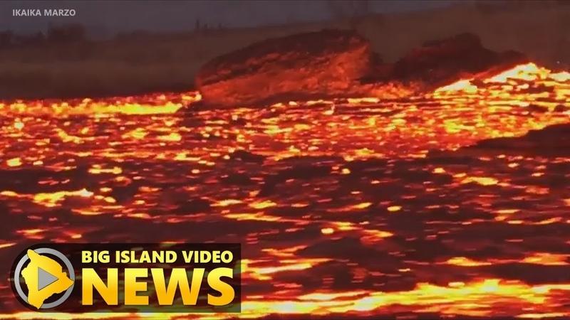 Hawaii Volcano Eruption Update - Tuesday Morning (June 19, 2018)