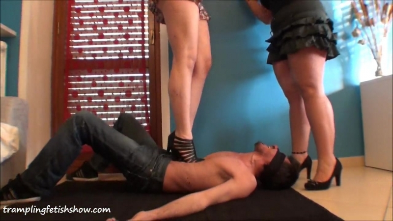 Double-Mistresses-High-Heel-Trample.mp4