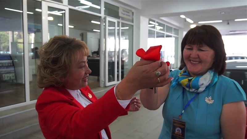 G-TIME CORPORATION Вручение 2х автомобилей партнерам из России