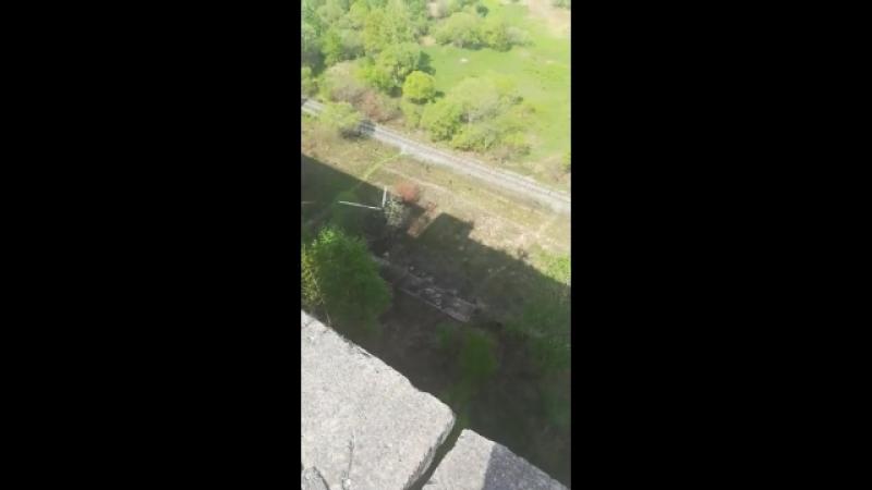 Прыжок на Комбикорме (переднее сальто)
