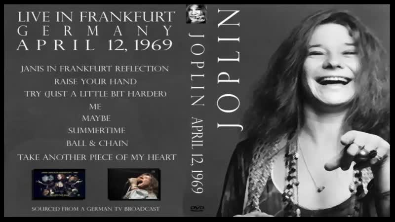 Janis Joplin. Live in Frankfurt, Germany. (1969)