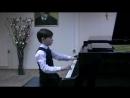 Л Моцарт Менуэт d moll исп Григорий Федюков 1 класс