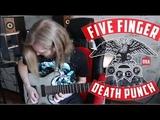 Five Finger Death Punch - Bad Company (gutiar cover)