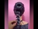 Видео урок пучка с кружевом