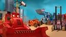 Мультик про рабочие машинки. Большой Бозер следит за тобой!