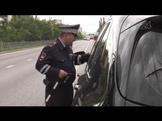 Инспекторы отправляют на штраф-стоянку машины, не соответствующие техническим характеристикам
