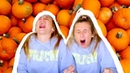 TRYING PUMPKIN FLAVORED FOODS