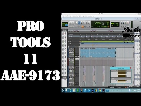 Pro Tools ran out of CPU Power Try deactivating or removing Native pluginsAAE 9173