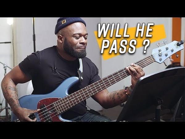 Bass Legend Vs The SBL Session Challenge