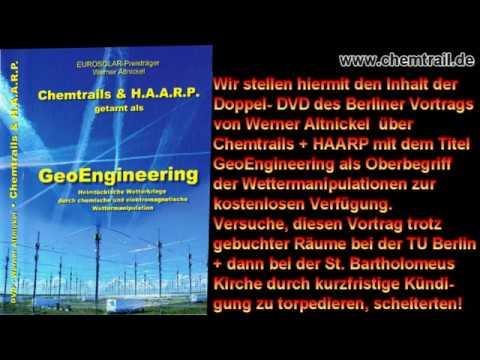 W. Altnickel: Geoengineering- Doppel-DVD kostenlos freigeschaltet kpl. Kopieren erlaubt.