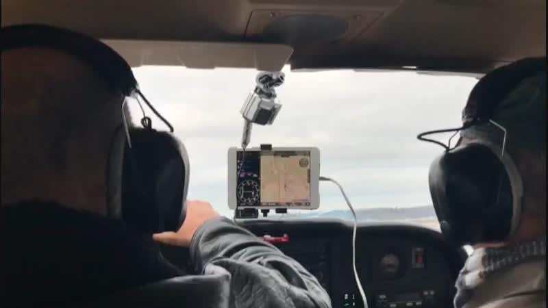Посадка на аэродроме Гостилицы
