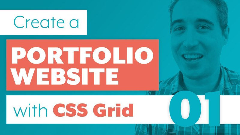 How to create a Website with CSS Grid Sass | Part One: The Markup