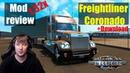 ATS 1.32x MODS|Freightliner Coronado|Обзор Модов American Truck Simulator