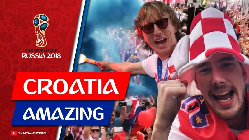 Сборная Хорватии празднует после ЧМ: день 1 (Modric, Rakitic, Lovren Mandzukic) World Cup